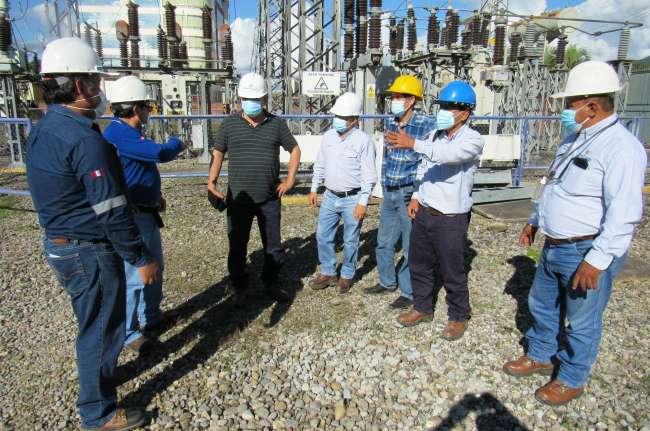 Gerente General de Electro Oriente realizo inspección técnica operativa en la Gerencia Regional de San Martín