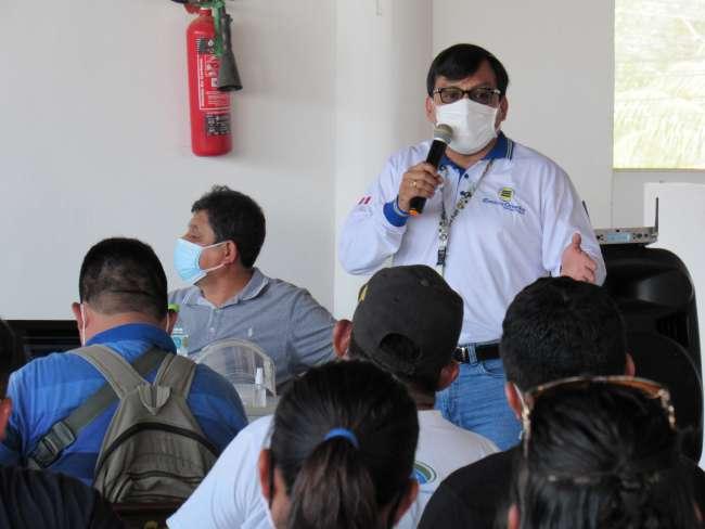 Electro Oriente asistió a mesa de diálogo en Yurimaguas