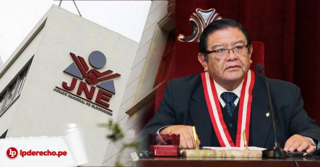 Presidente del JNE pide a la ciudadanía esperar con calma y serenidad resultados oficiales