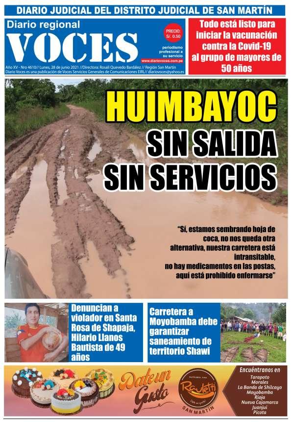 Diario Digital Lunes 28 de Junio del 2021