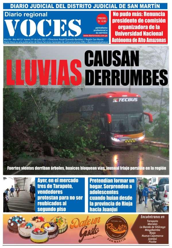 Diario Digital Jueves 01 de Julio del 2021