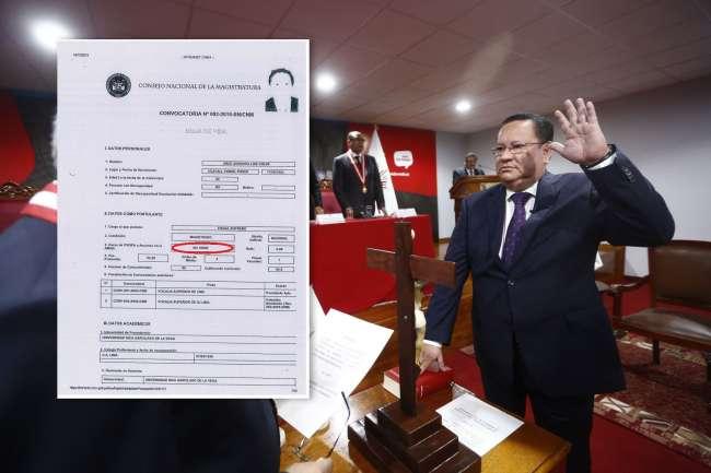 ¿Quién es Luis Arce Córdova, el magistrado que busca retirarse del JNE?