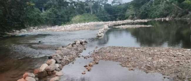 Denuncian pesca ilegal en el río Cumbaza