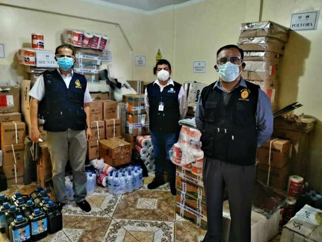 Fiscalía verificó entrega de material electoral que será distribuido en el sur de la región