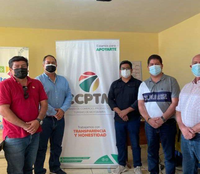 CCPT-SM busca consolidar San Martín Cámaras