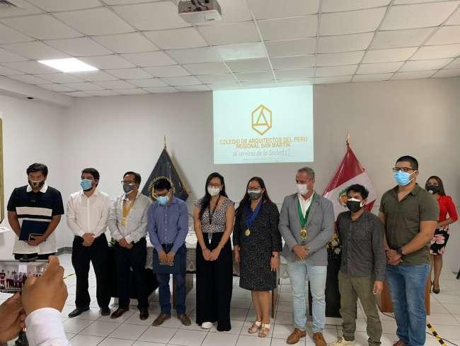 Será la nueva sede institucional del Colegio de Arquitectos del Perú  – Filial San Martín