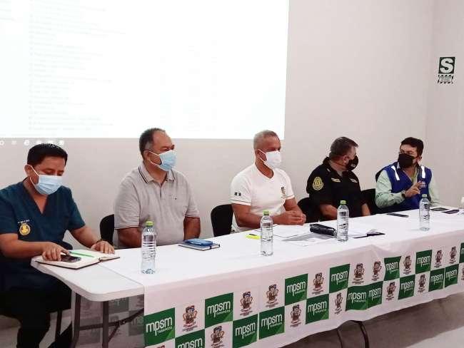 Comando COVID provincial se reúne en prevención de la tercera ola