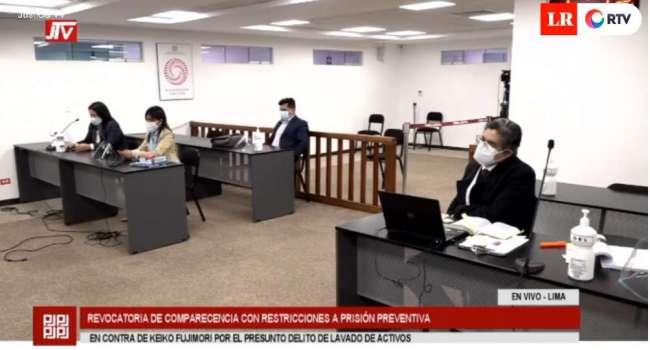 Juez declara infundado pedido de prisión preventiva contra Keiko Fujimori