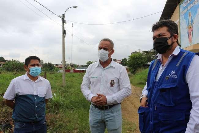 MPSM dona terreno a EsSalud para construcción de Hospital Móvil
