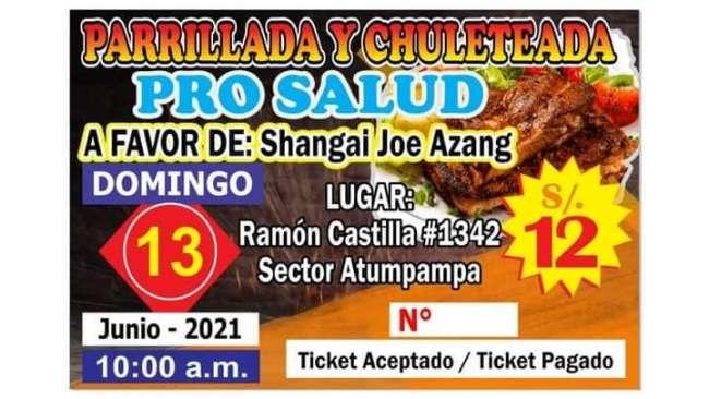 APOYEMOS A SHANGAY EN LA GRAN PARRILLADA Y CHULETEADA DE ESTE DOMINGO 13