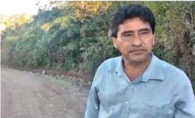 TRAS 12 AÑOS DE OLVIDO,  Alcalde del distrito de Alonso de Alvarado Roque – Lamas, inaugura enripiado de carretera caserío Nuevo Chota, entre otras actividades.