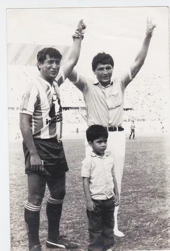 El Maestro Pedrito Ruiz jugó su último partido como profesional frente a Universitario en 1,988