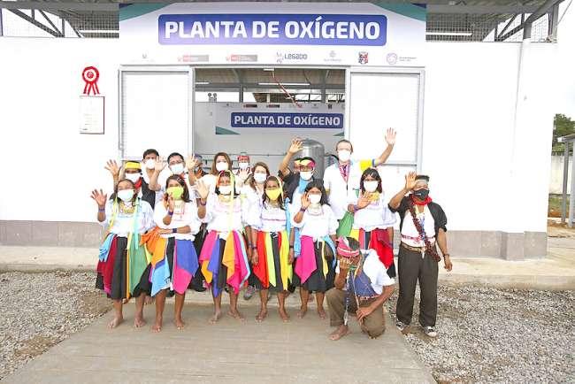 LEGADO pone en funcionamiento planta de oxígeno medicinal en hospital de Lamas