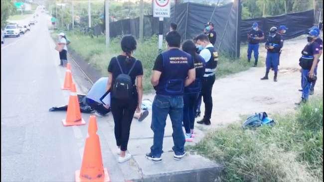 Una persona de sexo masculino muere cerca de la carretera Fernando Belaúnde Terry