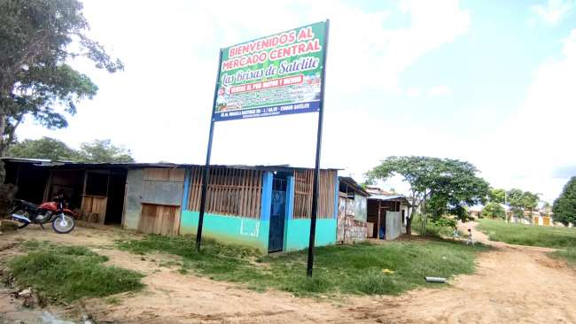 Mercado en La Banda de Shilcayo inaugurado hace un año está en abandono