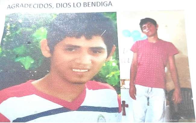 Desde hace dos meses está en calidad de desaparecido un joven especial de La Banda de Shilcayo