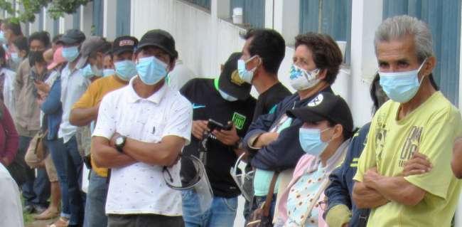 Hoy sábado en San Martín se vacunará a mayores de 45 años