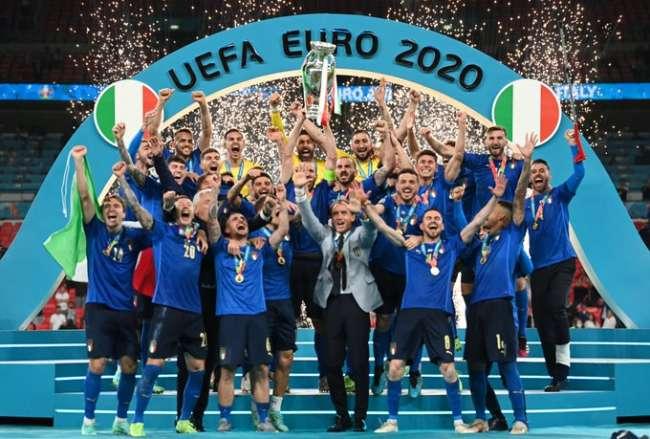 Italia ganó su segunda Eurocopa de su historia y lo celebra a lo grande