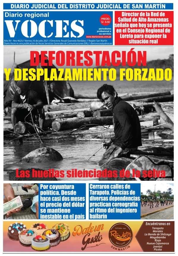 Diario Digital Viernes 16 de Julio del 2021