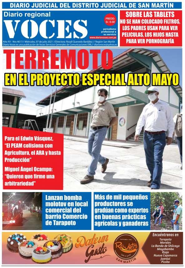 Diario Digital Miércoles 07 de Julio del 2021