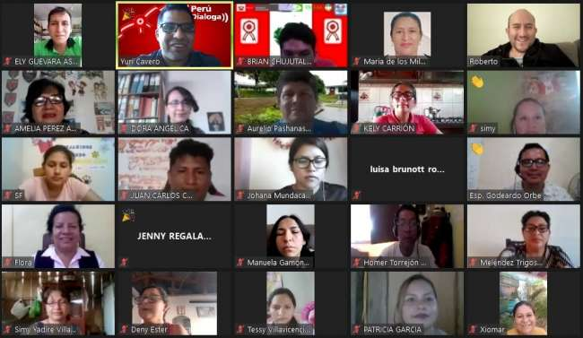 UGEL Alto Amazonas promueve espacios de diálogos literarios