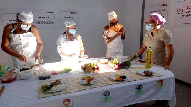 Hospital Banda de Shilcayo previene la anemia y desnutrición infantil