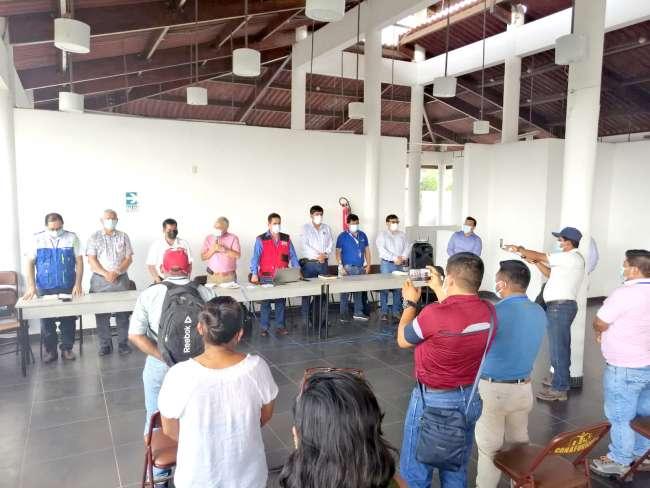 Electro Oriente mantiene reuniones informativas sobre avances en la Línea de Transmisión Pongo de Caynarachi – Yurimaguas