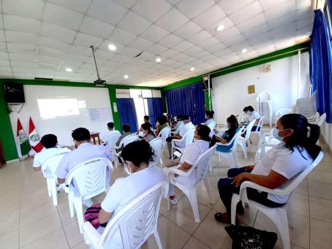 Alianza del Hospital de La Banda de Shilcayo y Cedro brinda capacitación a promotores de Salud