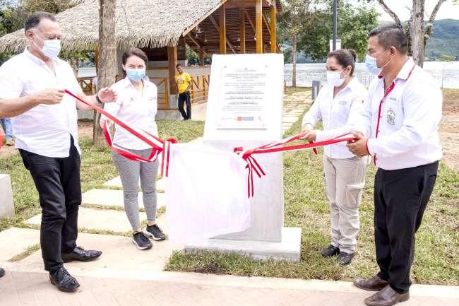 LAGUNA SAUCE:  Plan COPESCO Nacional inaugura obras turísticas por S/ 3.7 millones