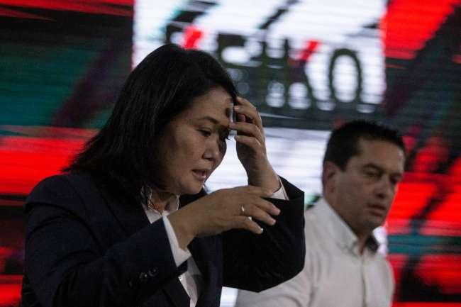 """Keiko Fujimori: RECONOCE SU DERROTA  """"Voy a reconocer los resultados por qué es lo que manda la ley y la Constitución"""