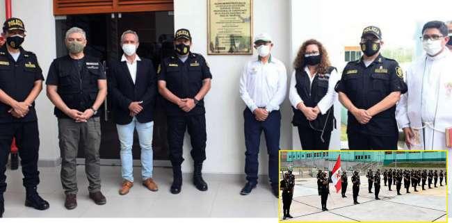 Inauguran moderna infraestructura de la Escuela de Suboficiales de la Policía Nacional en Tarapoto