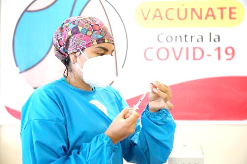 Moyobamba solo cuenta con 1800 dosis de Sinopharm, no cubrirá a todo el grupo etario