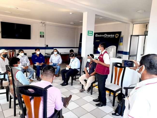 """""""Los vecinos de San Martín tienen las puertas abiertas al diálogo y a conocer sobre el  avance de los proyectos de inversión"""""""