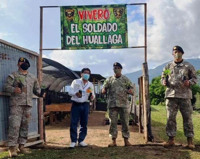 Goresam y Tercera Brigada de Fuerzas Especiales realizan trabajos de reforestación