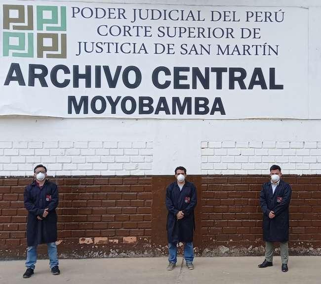COMISIÓN NACIONAL DE ARCHIVOS DEL PODER JUDICIAL RECONOCE LABOR DE RESPONSABLE DEL ARCHIVO CENTRAL