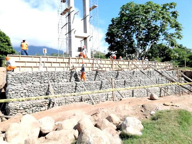 GORESAM avanza construcción de puente Bagazán en Mariscal Cáceres