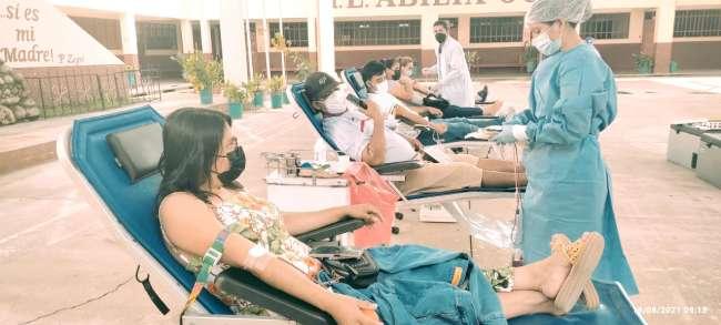 Exitosa campaña de donación de sangre en la provincia de Rioja