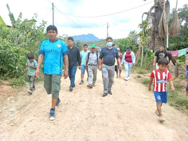 Inauguran 6 km de enripiado de carretera Santa Rosa – Alto Cutervo