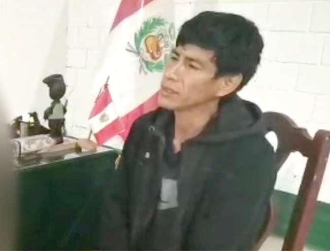 Dictan nueve meses de prisión preventiva para acusado de feminicidio en el Alto Biavo