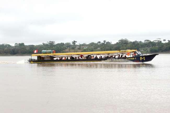 Estas medidas deben cumplir las embarcaciones fluviales en la Amazonía
