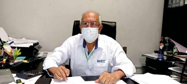 Gerente General del SAT Carlos Chira explica los resultados al 31 de agosto del 2021