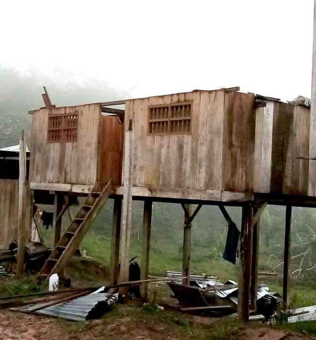 Fuertes vientos afectan redes eléctricas en Tarapoto y la zona sur de la región