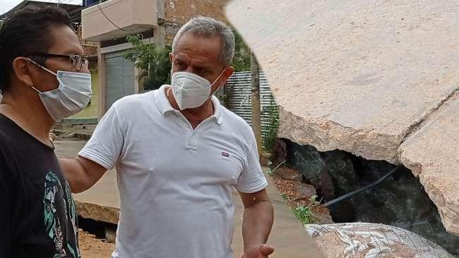 EMAPA es responsable de las obras en la cuadra 9 del Jirón Ricardo Palma