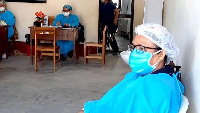 Reaperturan Centro de Salud en el sector Atumpampa