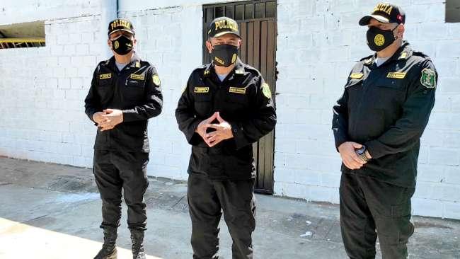 Jefe policial de San Martín advierte que extranjeros que delinquen serán deportados