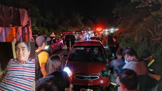 Choque de automóvil y motociclista deja un fallecido en carretera FBT