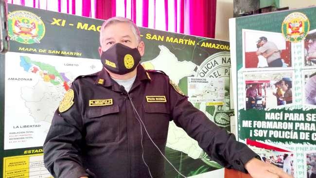 Coronel Max Miranda señala que personal fiscalizador no acude al llamado de la PNP