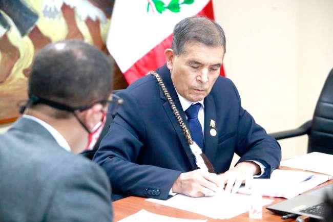 Ministro Ciro Gálvez presentó su plan de trabajo en la Comisión de Cultura y Patrimonio Cultural del Congreso de la República