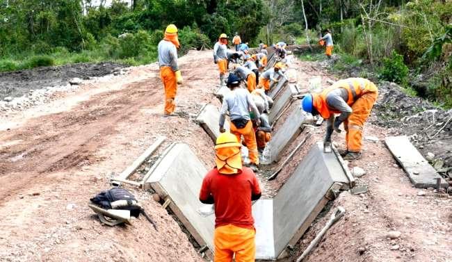 Gobierno Regional de San Martín hace realidad obras en el Alto Mayo