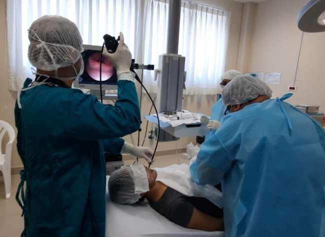 Salvan la vida a paciente NO COVID con nuevo procedimiento neumonologico en el hospital de Tarapoto